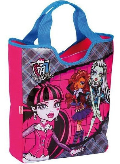Bolsa Shopping Bag/tote Monster High 14y01 Tote Sestini