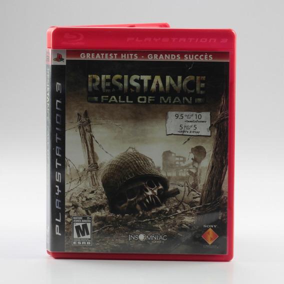 Resistance Fall Of Man Ps3 Playstation 3 Mídia Física
