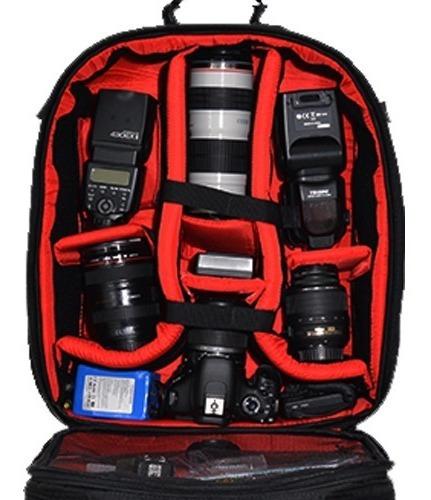 Mochila Fotográfica P Not Ate 15 Pol Vmb Iii Dslr Nikon Canon Sony
