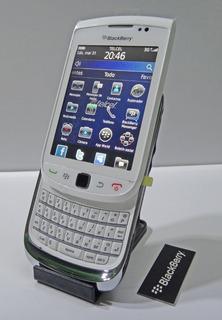 Celular Blackberry Deslizable ( Libre ) + Funda Hard Shell