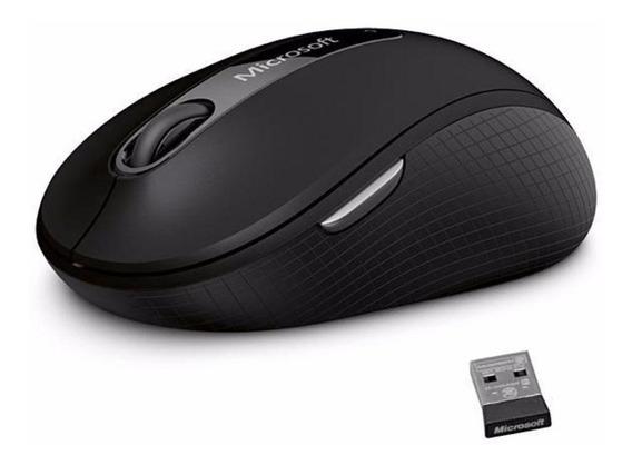 Mouse Microsoft 4000 Sem Fio Bluetrack Wireless Usb