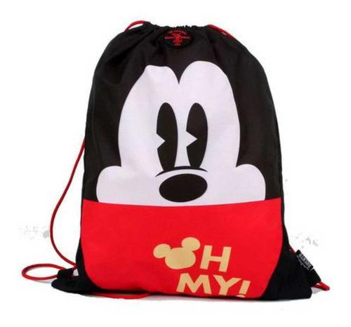 Imagem 1 de 2 de Mochila Saco Esportivo Disney Mickey Original - Dermiwil