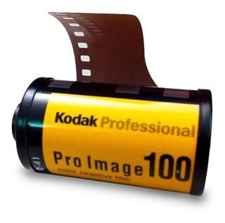 Rollo Kodak Pro Image 36 Fotos 100 Asas 35mm Vence 05/2021