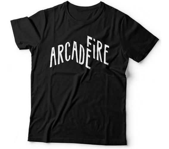 Remera Arcade Fire Indie Rock Samcro Remeras Dtg