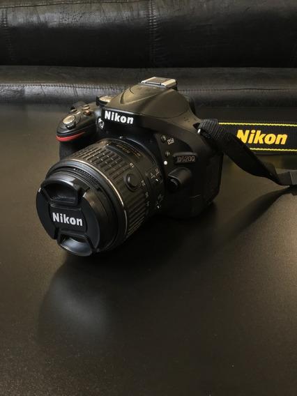 Nikon D5200 C/ 18-55 Vr Ii Kit Novissima
