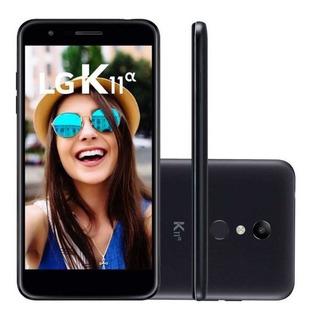 Celular Lg K11a Lm-x410btw 4g Nacional 16gb + Fone Preto