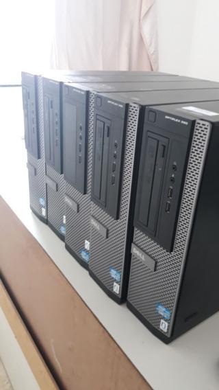 5 Computadores Dell Optiplex