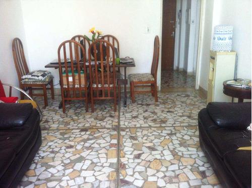 Apartamento Com 2 Dorms, Itararé, São Vicente - R$ 210 Mil, Cod: 472 - V472
