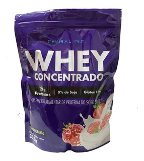 Whey Protein Concentrado (825g) - Canibal Inc