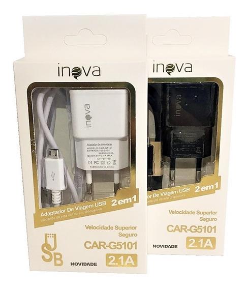 Carregador Celular E Tablet Carga Rápida V8 Promoção Inova