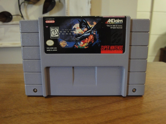 Batman Forever Cartucho Snes Super Nintendo Original