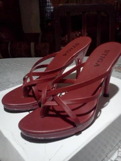 elige genuino precio asombroso cliente primero Elegantes Sandalias Rojas De Tacon - Zapatos en Mercado ...