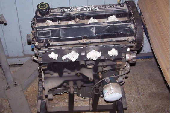Motor De Competicion Ford Zetec 2 Litros,250 Hp
