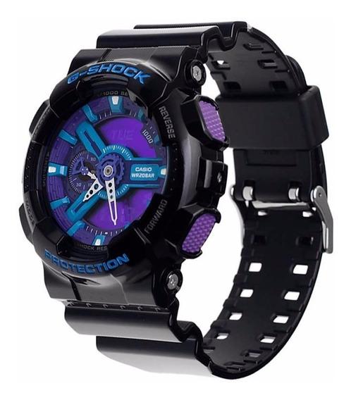 Relógio Casio G-shock Ga-110hc-1adr Ga110 Wr200 H.mundial