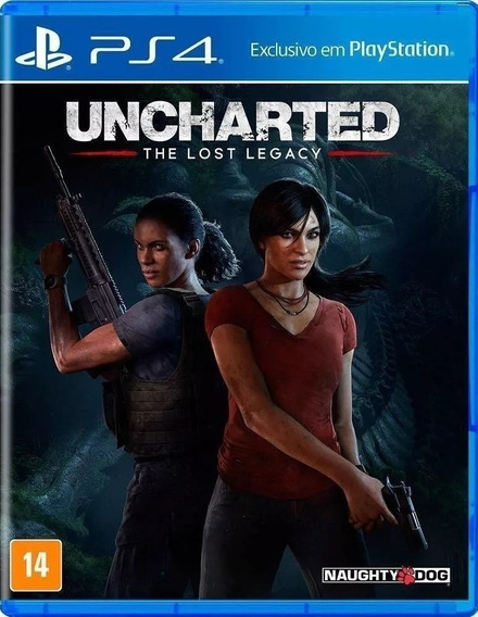 Jogo Uncharted The Lost Legacy Playstation Ps4 Frete Grátis