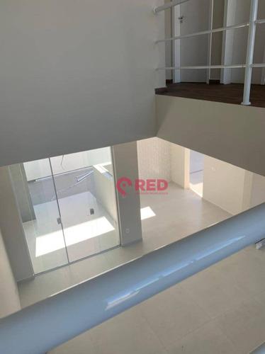 Sobrado Com 3 Dormitórios À Venda, 136 M² Por R$ 580.000,00 - Condomínio Terras De São Francisco - Sorocaba/sp - So0399