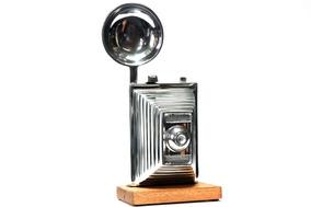 Câmera Fotográfica Antiga Decoração - Adorno - Enfeite