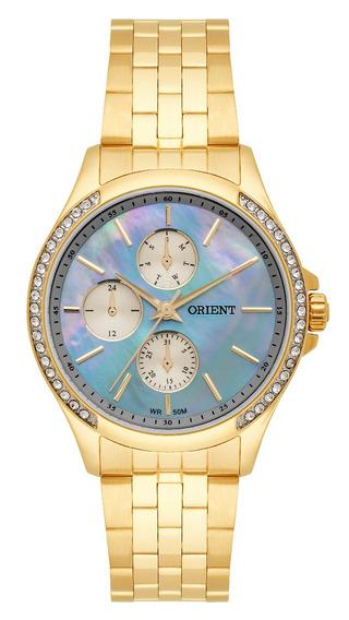 Relógio Orient Feminino Dourado Fgssm051g1kx