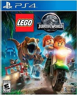 Lego Jurassic World Ps4 (nuevo Y Sellado De Fabrica)