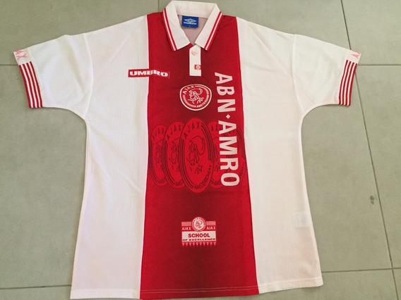 Camisa Ajax Holanda 94/95 Home Original Importada