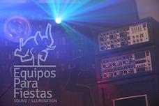 Alquiler Luces Led Fiesta Iluminación Sonido Humo Dj´s Láser