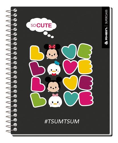 Pack 5 Cuadernos Premium Rhein Tsum Tsum 1/2 Oficio