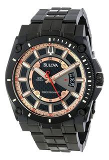 Reloj Bulova Para Hombre Modelo 98b143 Serie Precisionist Wr