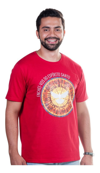 Camiseta Enchei-vos Do Espírito Santo