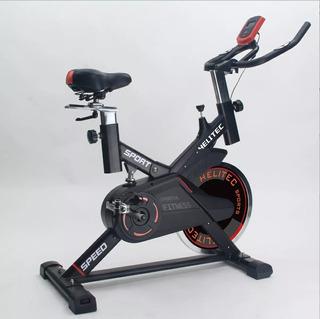 Bicicleta Spinning Profesional Regulable Disco 18kg