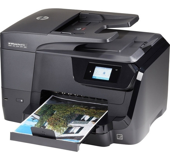 Multifuncional Hp Officejet Pro 8710 C/ Chip Full