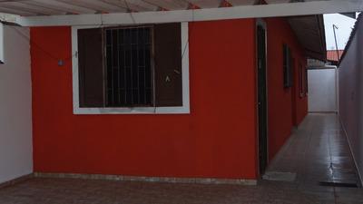 Ótima Casa Com 02 Dormitórios À Venda Em Mongaguá! Ref. 5619