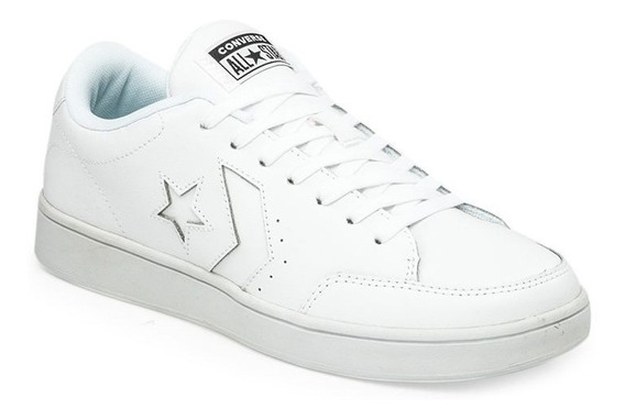Converse Star Court Ox Cuero Blanco Moda Unisex!! @