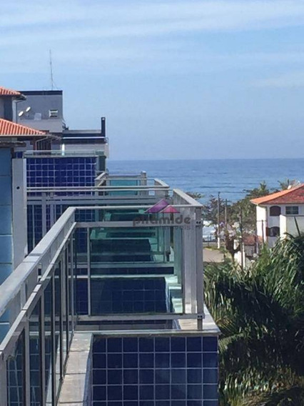 Cobertura Residencial À Venda, Praia Grande, Ubatuba. - Co0087