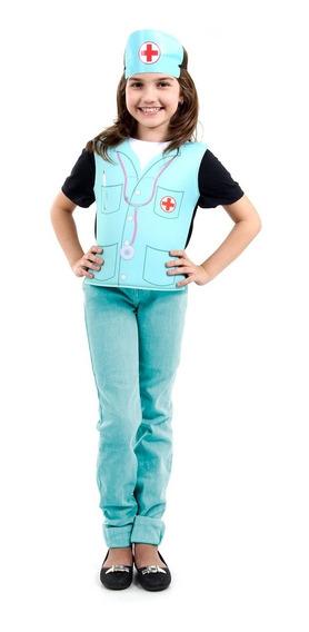 Roupa De Enfermeira Infantil Brinquedo Menina Sulamericana