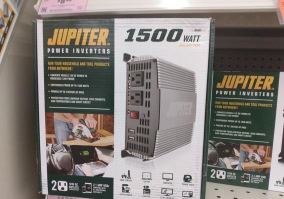 Jupiter Inversor Corriente 1500w/3000w Auto Paneles Solares