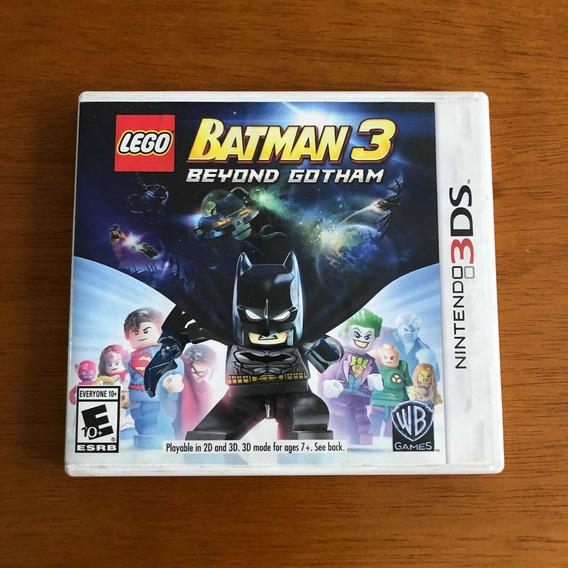 Lego Batman 3 Beyond Gotham Nintendo 3ds Original Nintendo