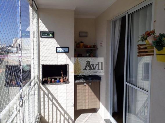 Apartamento Com 3 Dormitórios À Venda, 76 M² Por R$ 575.000 - Jardim Anália Franco - São Paulo/sp - Ap2210