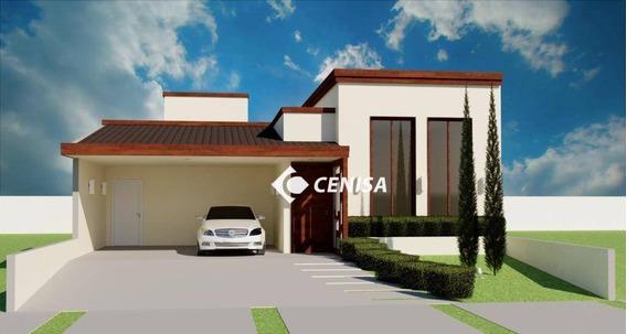 Casa Com 3 Dormitórios À Venda, 190 M² - Condomínio Dona Maria José - Indaiatuba/sp - Ca2276