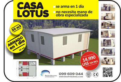 Casas Prefabricadas Importadas Lotus (no Contenedor)