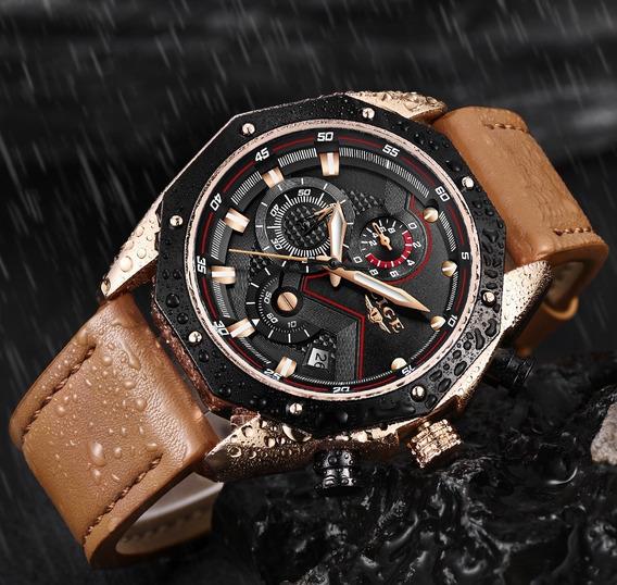 Relógio De Luxo Esportivo Lige