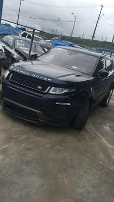 Range Rover Evoque 2017 Sucata Para Venda De Peças