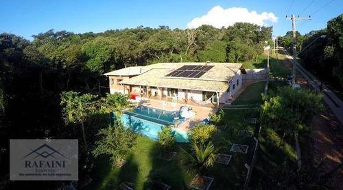 Chácara Com 5 Dormitórios À Venda, 2200 M² Por R$ 950.000,00 - Estância Santa Maria Do Laranjal - Atibaia/sp - Ch0018