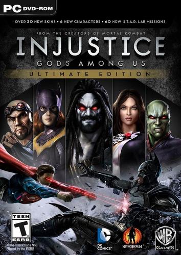 Game Pc Injustice Gods Among Us Ultimate Edition Original Mercado Livre