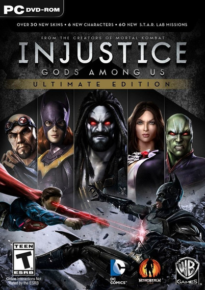 Game Pc Injustice Gods Among Us Ultimate Edition - Original