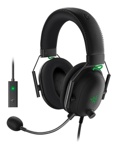 Auricular Gamer Razer Blackshark V2  + Usb Sound Card