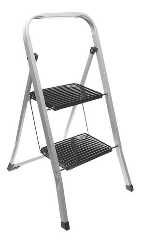 Escalera De Aluminio 2 Escalones