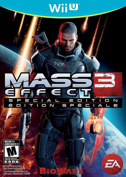 Jogo Nintendo Wiiu Mass Effect 3 Special Edition Lacrado