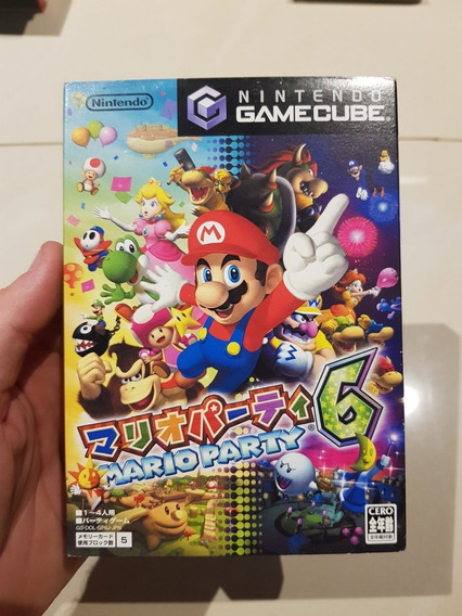 Mario Party 6 Nintendo Gamecube Original Japones Excelente
