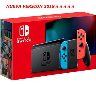 Nintendo Switch 32gb Nuevo Versión 2019 Tienda Gamers *_*