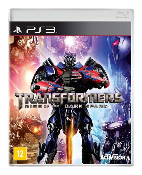 Transformers Rise Of The Dark Spark - Ps3 - Mídia Física